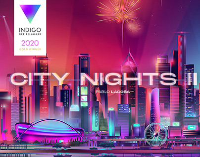 CITY NIGHTS II - illustrations collection