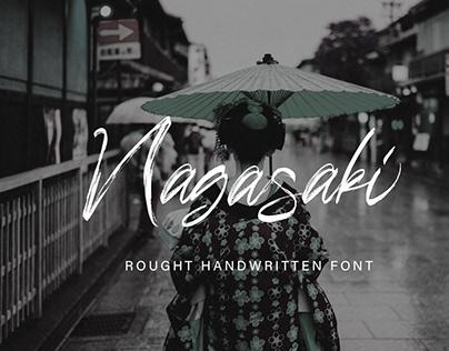 Nagasaki Handwritten Font