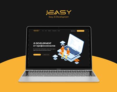 JEASY - JS Development - Landing page