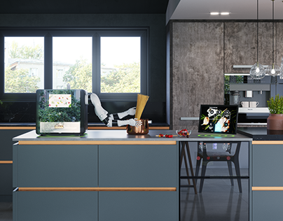 The Future Kitchen - Smart Kitchen Design