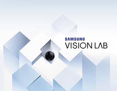 Samsung Vision LAB Ident 三星概念店 | 品牌動態識別