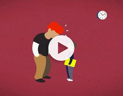 Motion graphics - Cabecera Máster Prevención Problemas