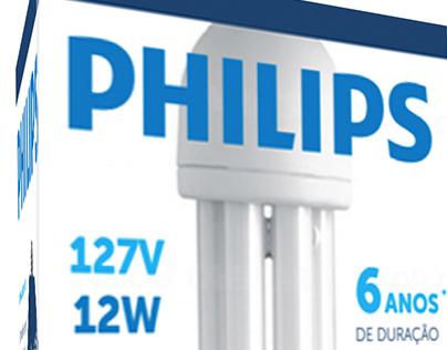 Embalagem para lâmpadas Philips
