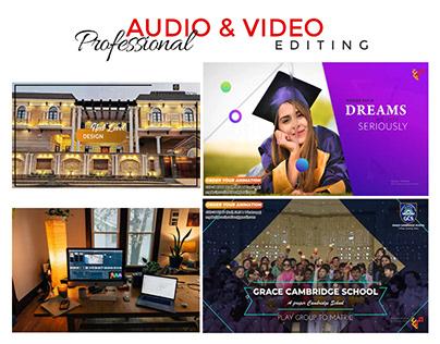 Audio Video Editing