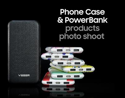 Phone Case & PowerBank Product Photoshoot