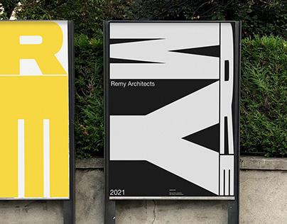Remy Architects   Visual Identity