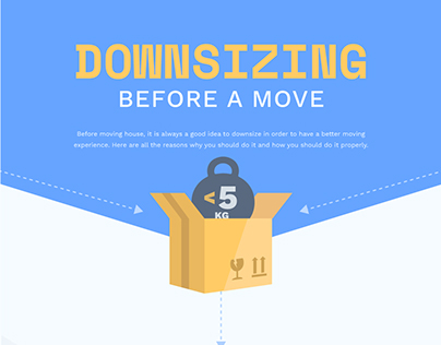 Downsizing Before a Move