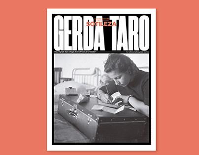 Gerda Taro. Sotileza