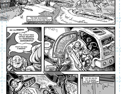 Graphic Novel Sample Page