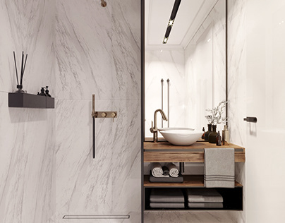 Apartment VICTORIA- Bathroom design