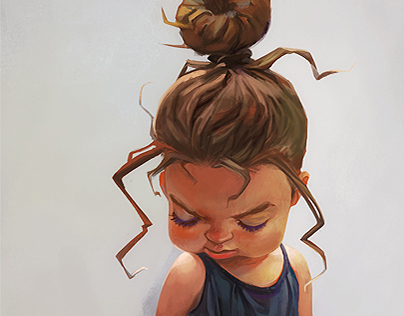 Cute girl personal project