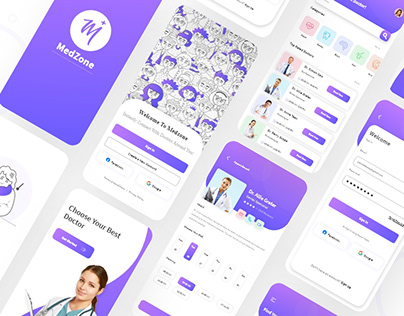 Doctor Appointment Booking App Design