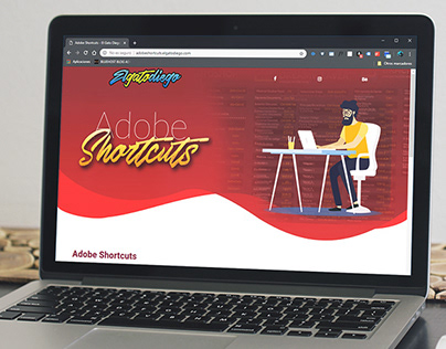 #AdobeShortcut Proyecto personal