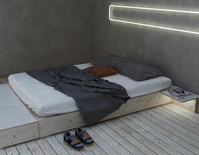 BASICS Bed