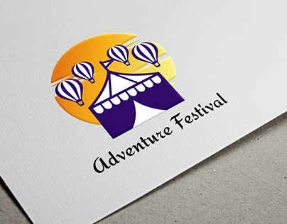 Adventure Festival Logo Design
