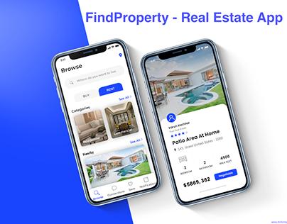 FindProperty - Real Estate App