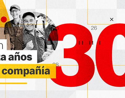McDonald's 30 años Chile