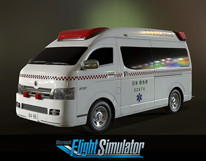 Ground vehicles Microsoft Flight Simulator