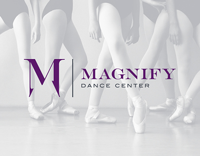 Magnify Dance Center Branding