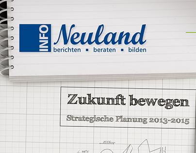 INFO Neuland Cover Design