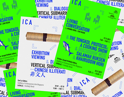 ICA Singapore, Poster Series