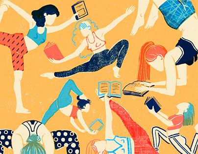 Yoga reading practice
