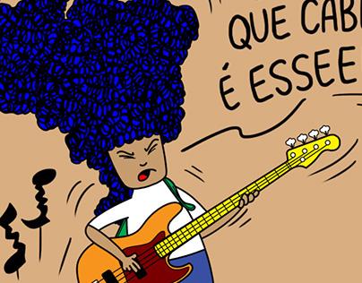 Aparecida, a menina com cabelos de Brasil - 2015