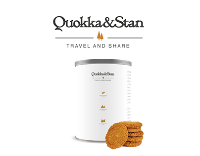 Quokka & Stan - Cookies for travel and share