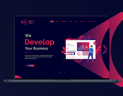 Enos Website Template