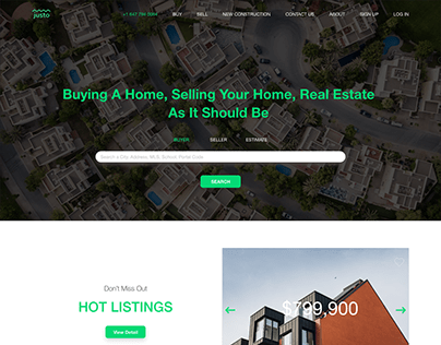 Web Home Page Redesign