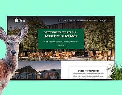 Hines - Furst Ranch - Website Design