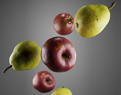 3D Scan Fruits - CGI