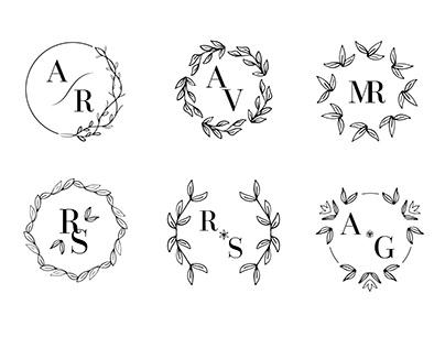 Monograms and Ornaments for Freepik Company