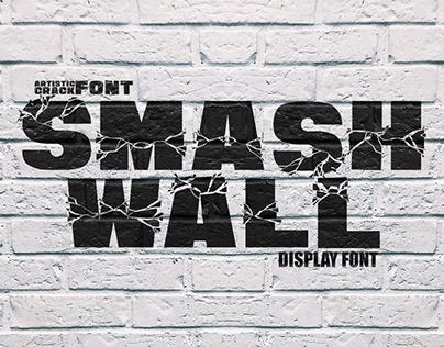 Smash Wall Font