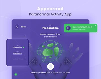 Appnormal - Paranormal Activity App