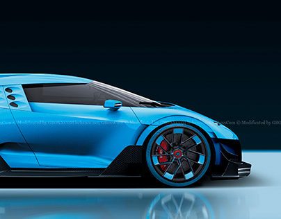 2020 Bugatti SUV on Behance