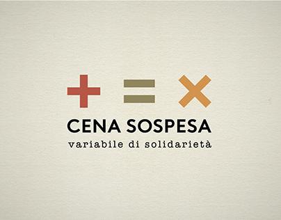 CENA SOSPESA | rebranding