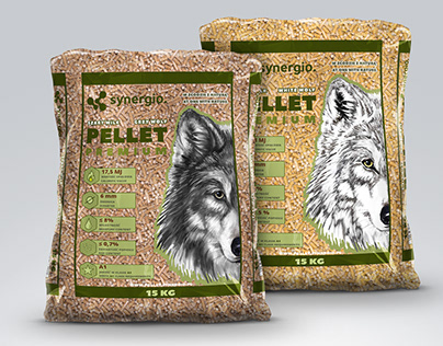 Wood Pellet - packaging design