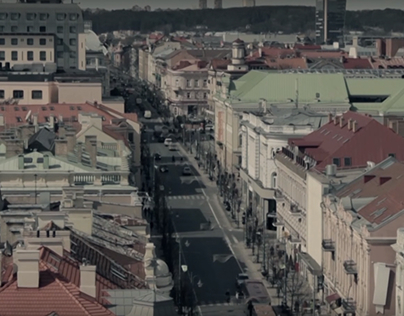 Video for Modern Art Center in Vilnius -Talking Statues
