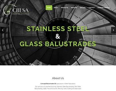 Concept Balustrades SA Website