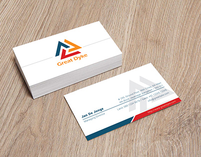Great Dyke_Business Card Design