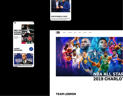 NBA — New Website Project '20