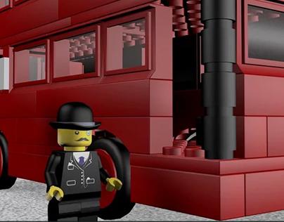 3D Lego animation