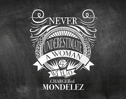 Typography for Mondelez