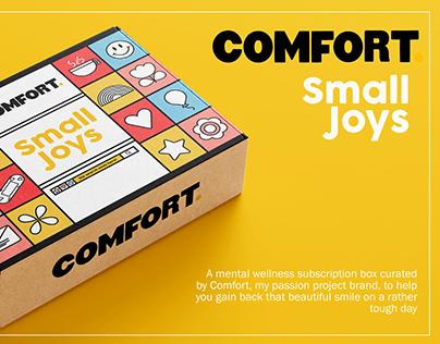 Comfort - Small Joys (Mental Wellness Subscription Box)