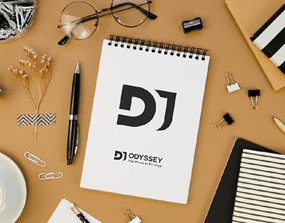 DJ odyssey - the musical prodigy | Logo design
