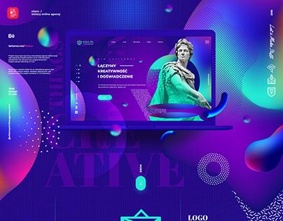 V O A victory online agency / UI / UX / Web design