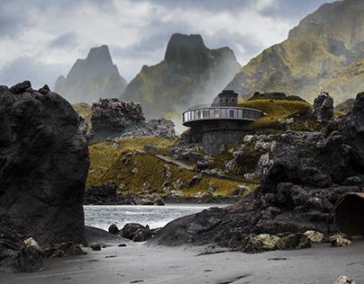 Nordic Beach Retreat - Full CGI