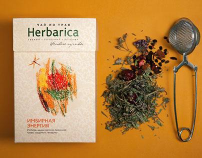 """Rebranding the line of herbal teas """"Herbarica"""""""