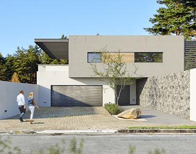 VrayforC4D scene files - House Banton - Modern Home